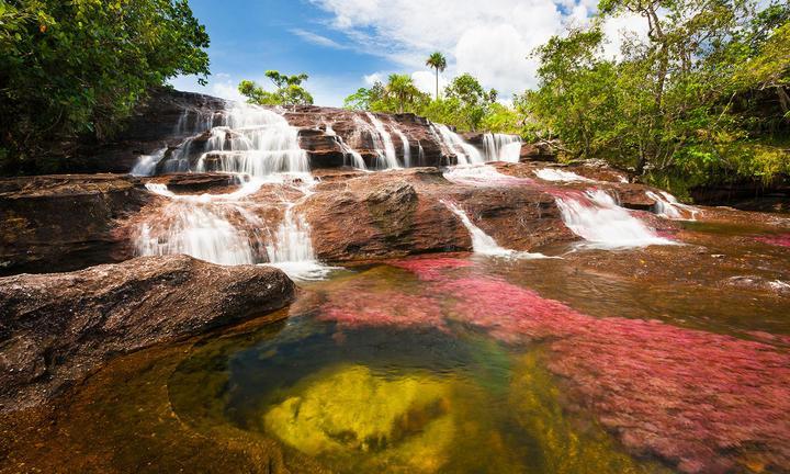 Река Каньо-Кристалес, фото