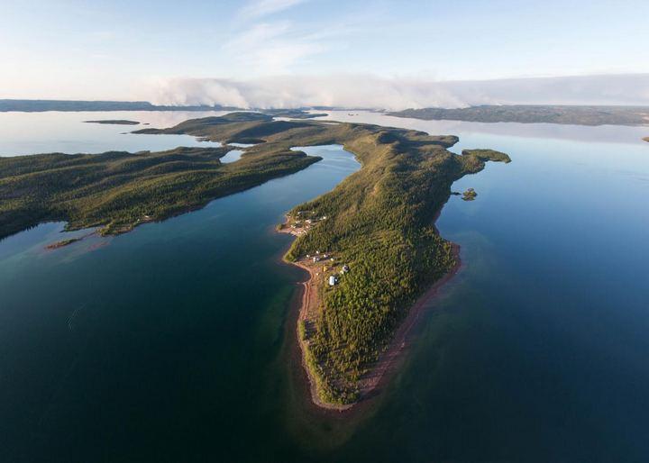 Озеро Большое Невольничье озеро, Канада