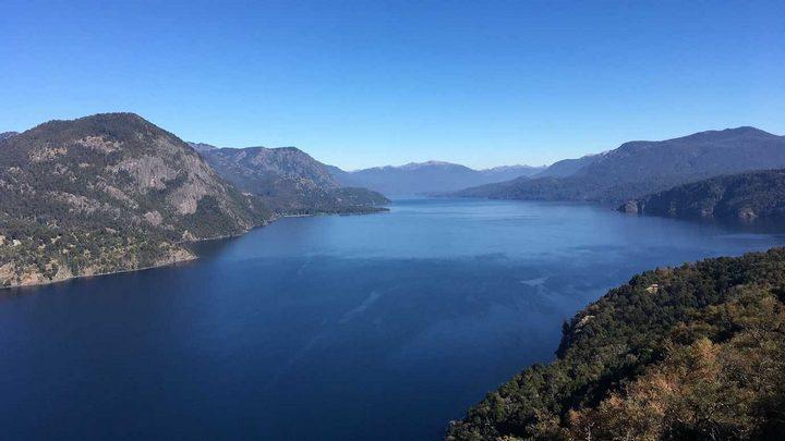 Озеро Сан-Мартин, Аргентина-Чили