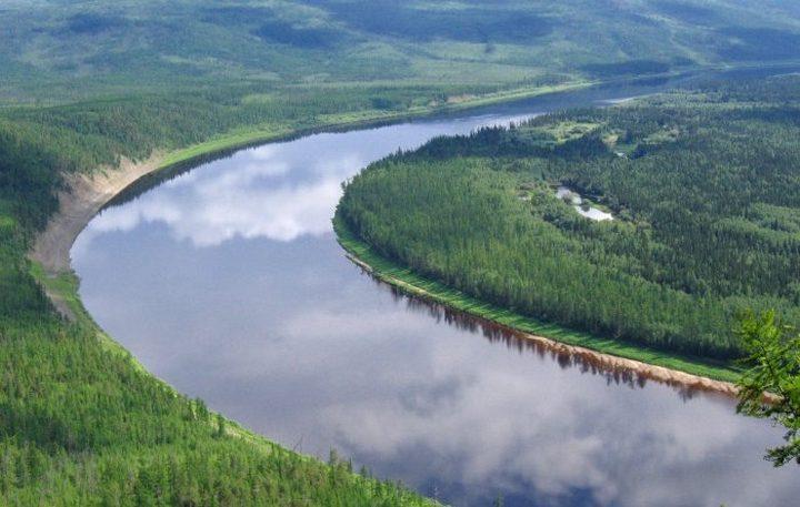 Река Нижняя Тунгуска, фото