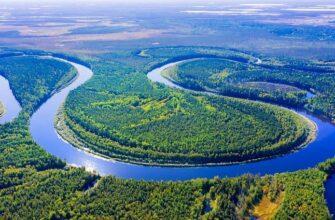 Река Обь, фото