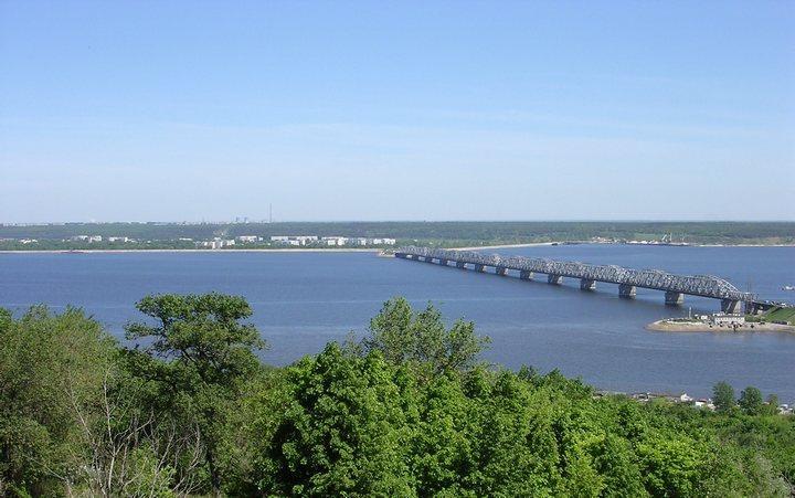 Река Волга, фото
