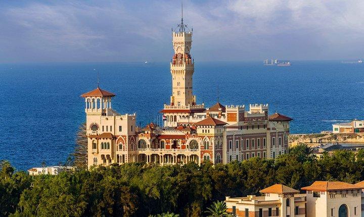 Александрийский Дворец Монтаза, фото