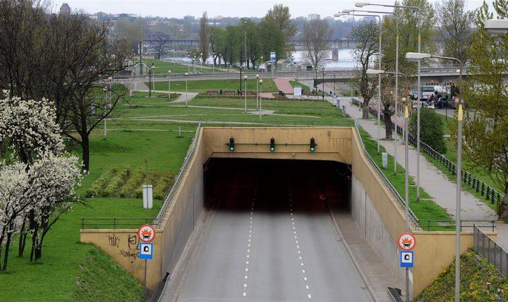 Автомобильный тоннель под Вислой (Варшава), фото
