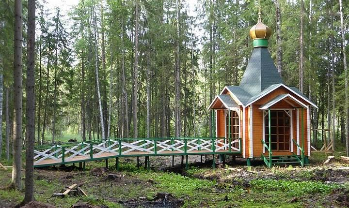 Часовня во имя св. Николая на истоке Западной Двины, фото