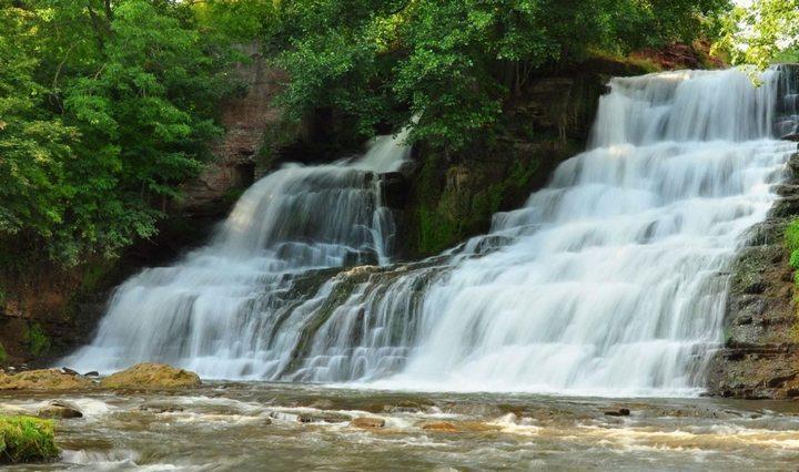 Джуринский водопад, фото