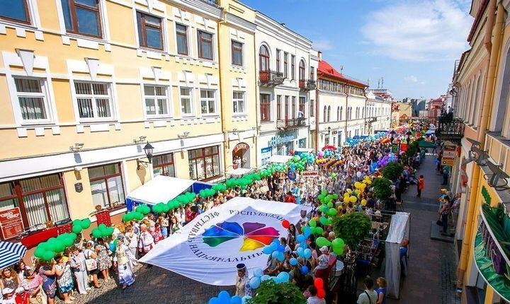 Фестиваль национальных культур в г. Гродно, фото