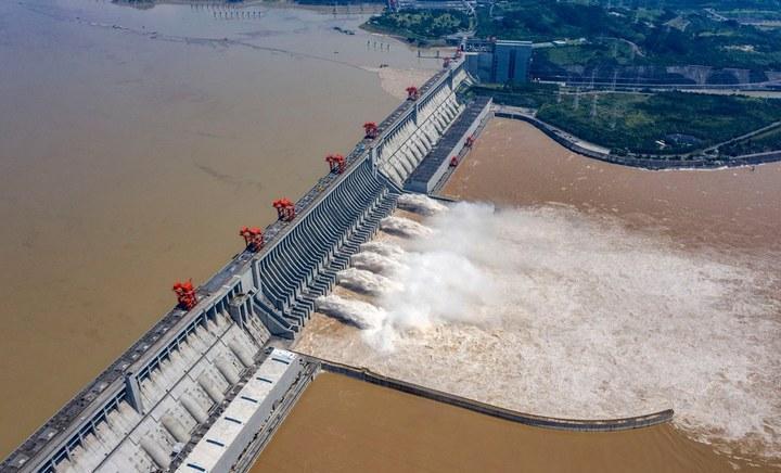 ГЭС Три ущелья, фото