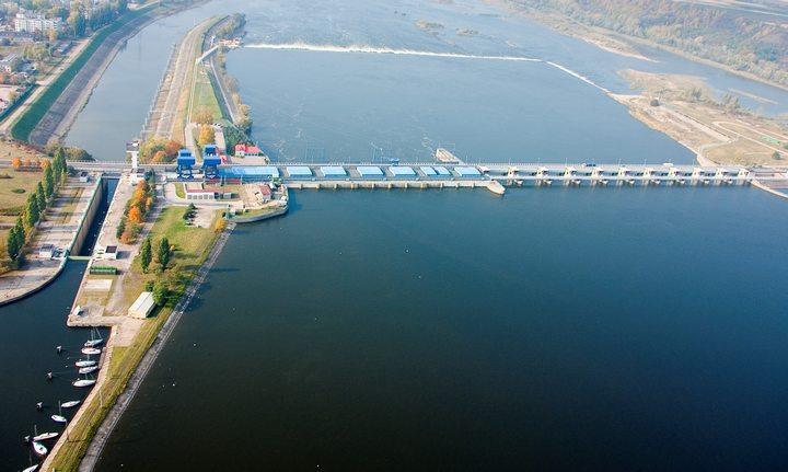 ГЭС на Висле в Влоцлавеке, фото