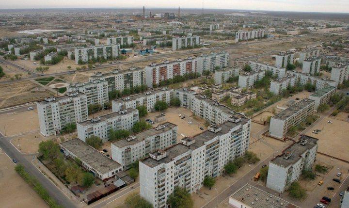 Город Байконур, фото