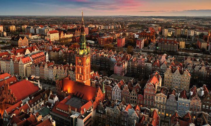 Город Гданьск, фото