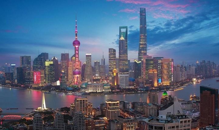 Город Шанхай, фото