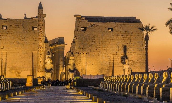 Храмы Луксора, фото