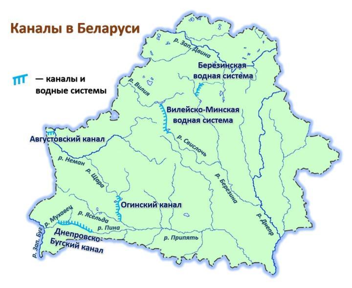 Каналы в Беларуси, фото