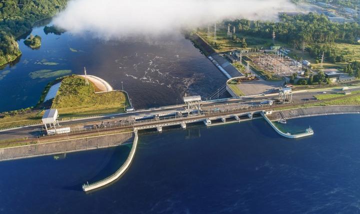 Каунасская ГЭС, фото