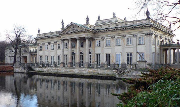 Лазенковский дворец, фото