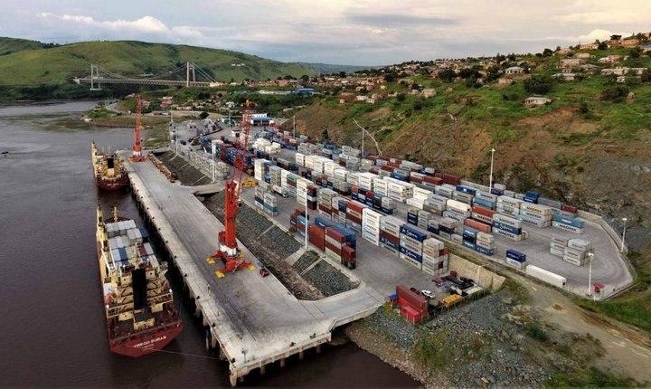 Морской порт Матади, фото