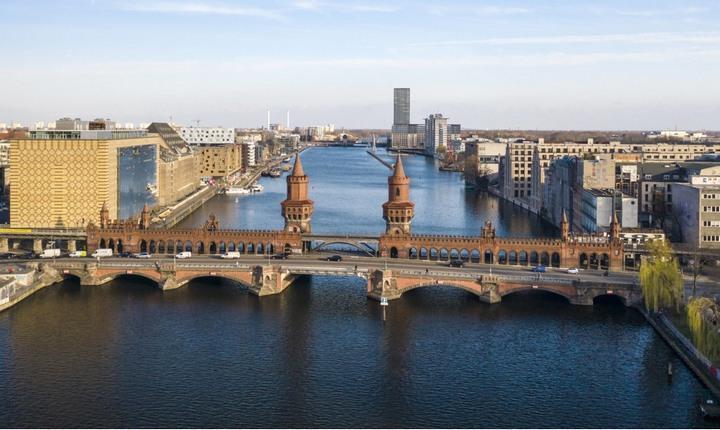 Мост Обербаумбрюкке, фото