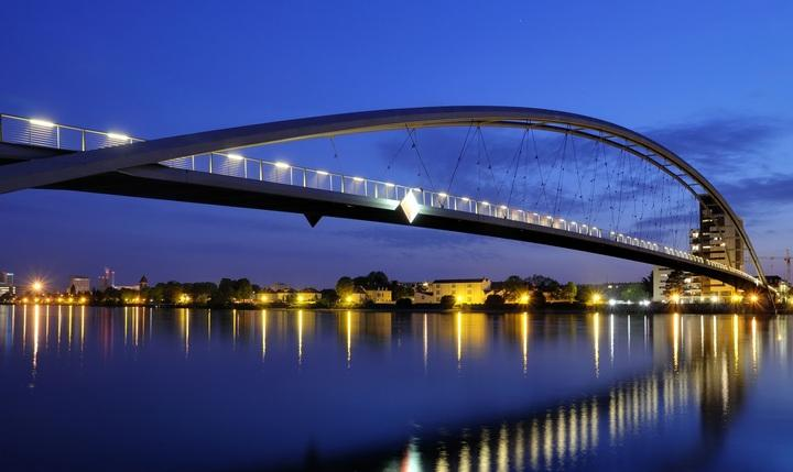 Мост «Трех стран», фото