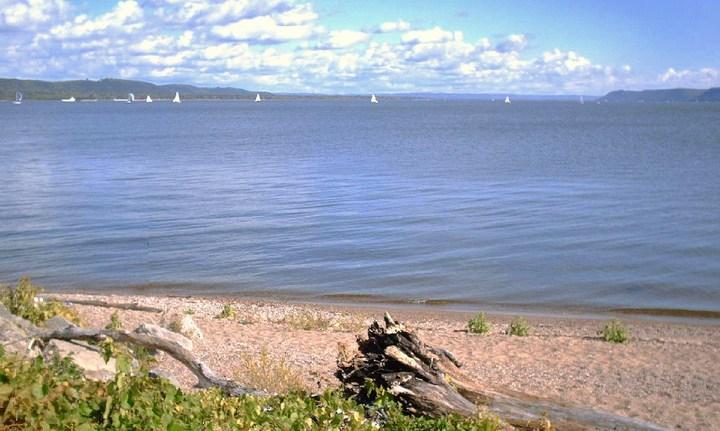 Озеро Пепин, фото
