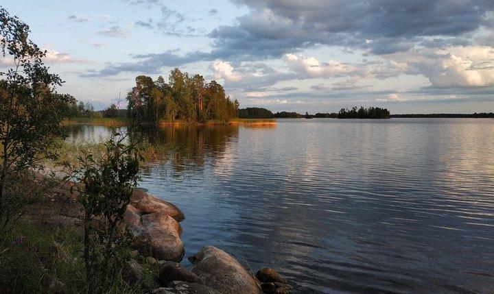 Озеро Вуокса, фото