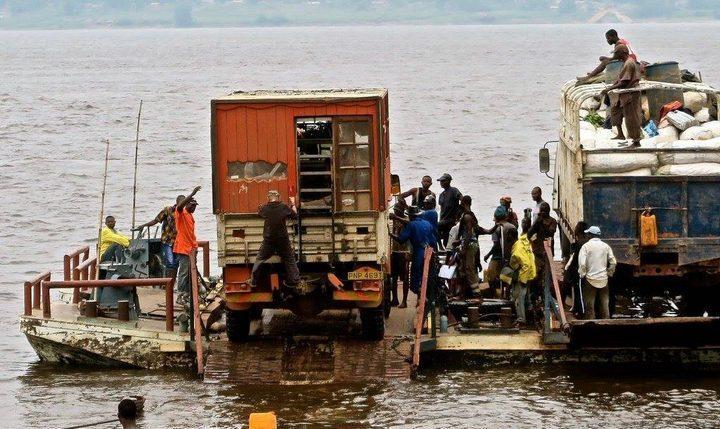 Переправа на реке Конго, фото