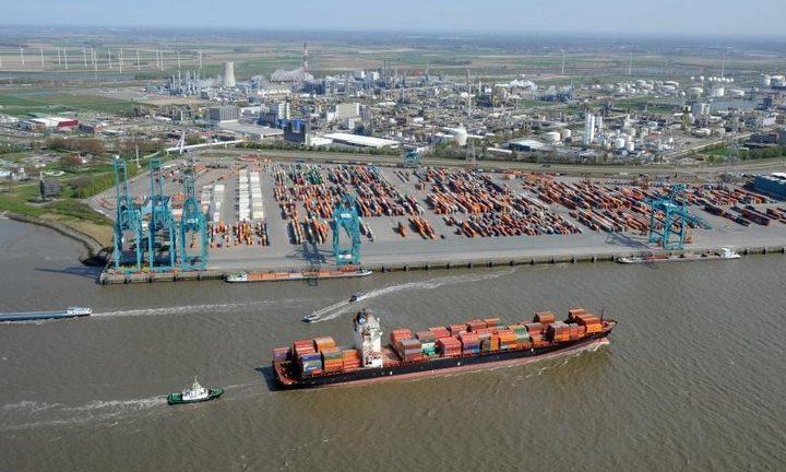 Порт на Рейне, фото