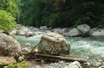Река Аапста, фото