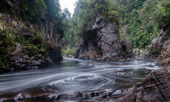 Река Франклин, Тасмания, фото