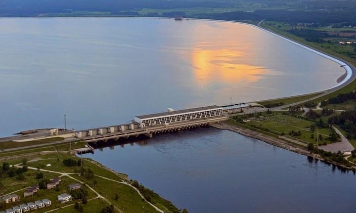 Рижская ГЭС, фото