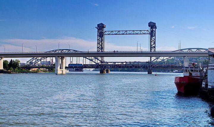 Ростовский разводной железнодорожный мост, фото