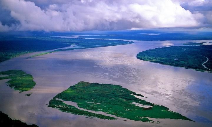 Слияние рек: Мараньон и Укаяли, фото