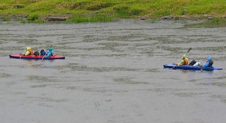 Сплав на байдарках по Западной Двине, фото