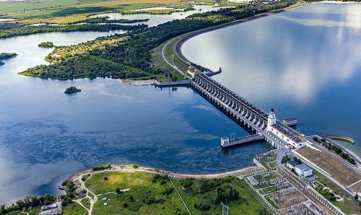 Цимлянская ГЭС, фото