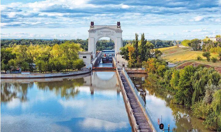 Волго-Донской канал, фото