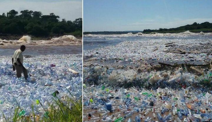 Загрязнение реки Конго, фото