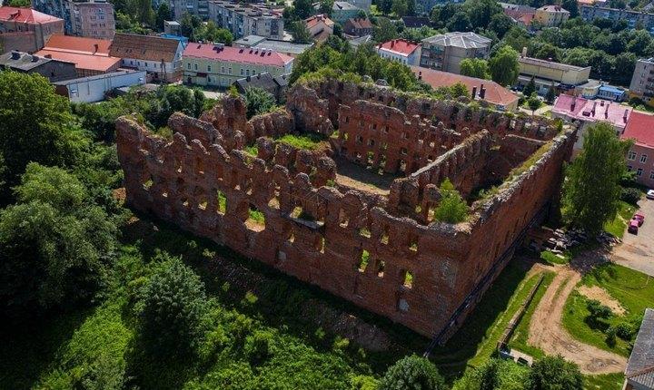 Замок тевтонских рыцарей Рагнит, фото
