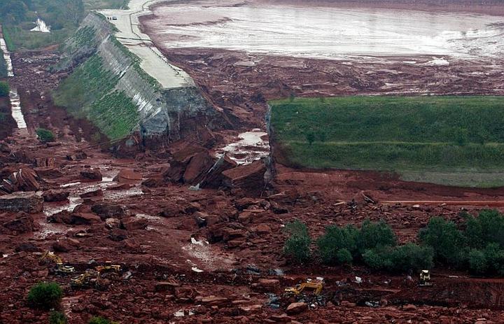 Крупнейшая экологическая катастрофа на Дунае, фото