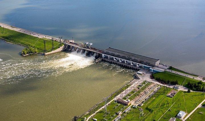 Новосибирская ГЭС, фото