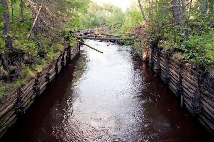 Обь-Енисейского канал в наши дни, фото