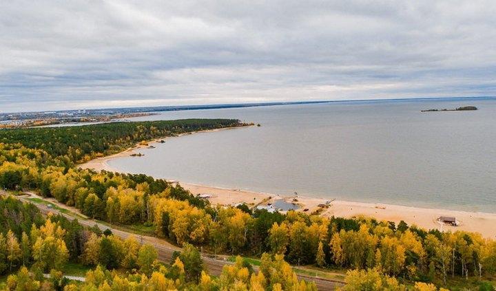Обское море, фото