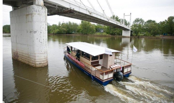 Оренбургский речной трамвай, фото