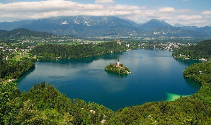 Озеро Блейско, фото