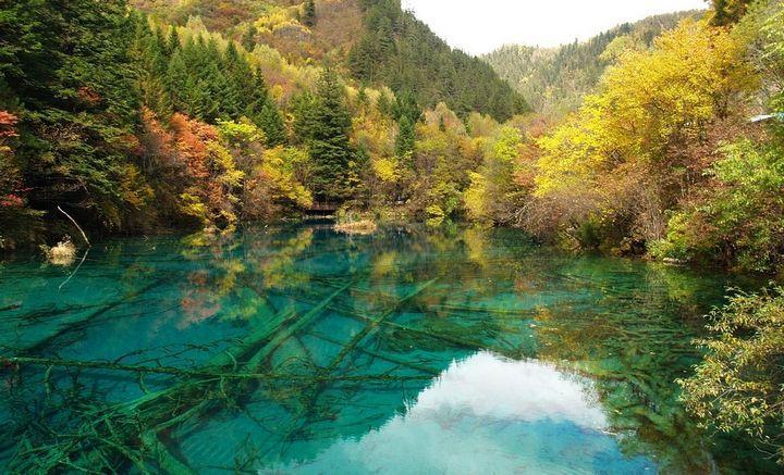 Озеро Пяти Цветков, фото