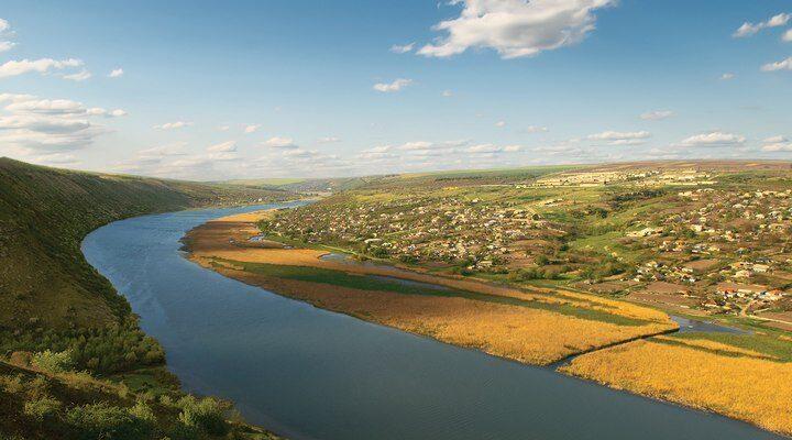 Река Днестр, фото