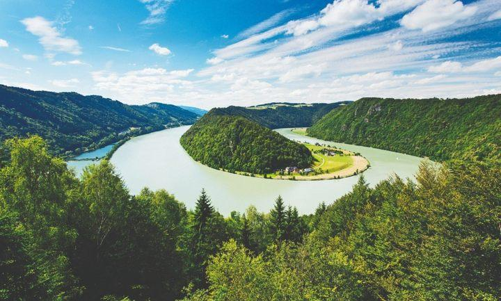 Река Дунай, фото