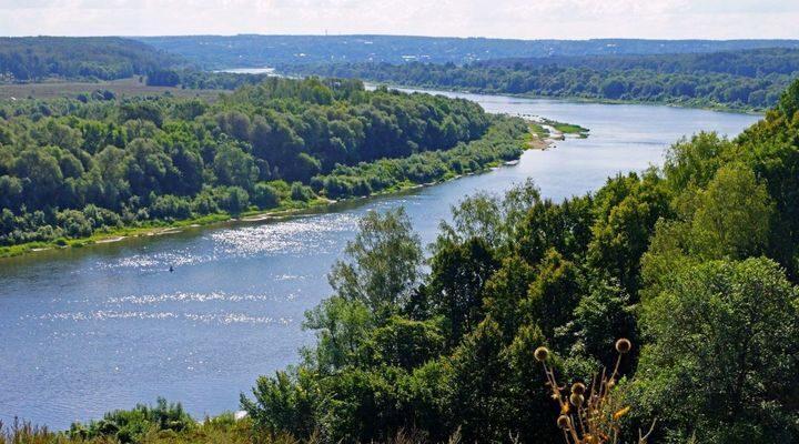 Река Ока, фото