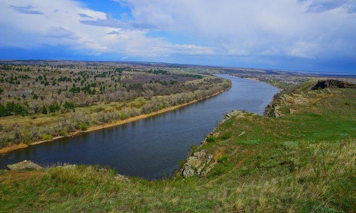 Река Северский Донец, фото