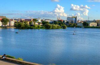 Река Свислочь, фото
