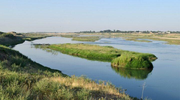 Река Сырдарья, фото